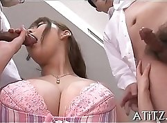 all new Asian lorie with huge boobs a pee gourmet