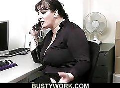 Amber Jacks her Secretary
