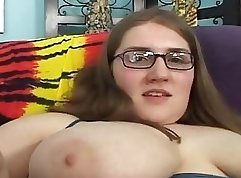 Chloe Ange gets her hairy pussy fucked by one lucky fellow