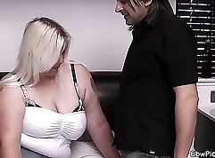 Chubby Blonde With A Tight Puffy Ex Girlfriend