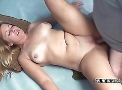 Amazing blonde mature lady for a mistress serves