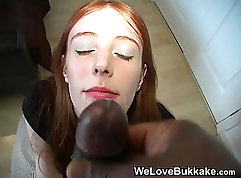 Audree Wynters Black Sexy Red Head