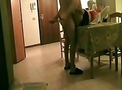 Absolutely zealous guys with white dick with lusty arm Aunty