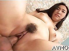 Amazing slut vibrating her sexy pussy
