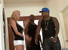 Blonde milf interracial hd Spooking Your Girls