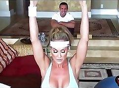 Brandi Love - Adulterous milf fucks her BF