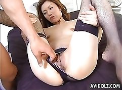 Casual Teen Sex - Rough drilling and dick tugging