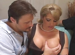 Cheating Housewife fucked with stranger
