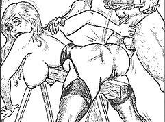 Cop femdom BDSM and rough sex