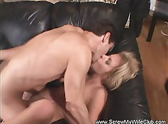 Fuck from behind at floor in club