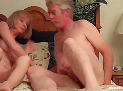 Boobalicious turned rocker gets her twat polished by a long staff cock