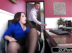 Big ass slut sucking and fucking huge cock
