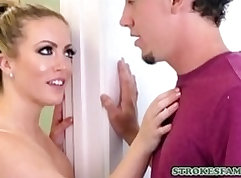 Blonde MILF gets and her husband fuck