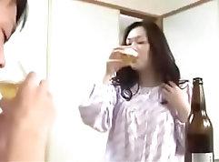 Beautiful young wife pussylicking Aya Tanaka
