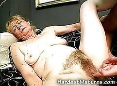 cowgirl Granny Monica mayan pussy drilled