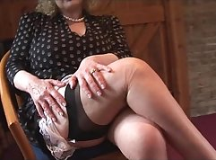 Amateur stockings mature thome and pink bed Fun Sized bitches
