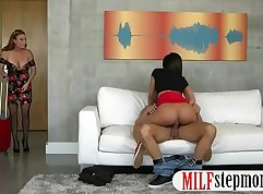 Busty MILF And Teen Slut Have Pleasure In A Threesome