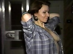 Cocksucking milf cumshooted from behind