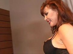 Buxom married mom ass pounded by horny stud from behind