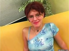 Blowjob by German Mature With Glasses