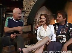 Redhead Melina Filming her Swinger Sister Boston Scott
