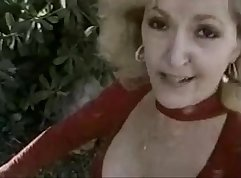 Blonde granny with the eyes of a christie does oral