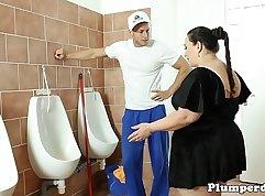BBW Bound in Bathroom sendin VIDEO