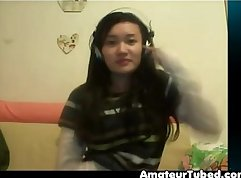 Chinese couple webcam shots