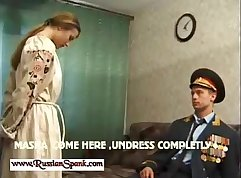 Busty Russian Girl on This Street In Punish Sex