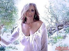 Hot MILF Julia Ann goes wild in public sex