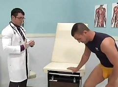 Machine giving naughty nurse pounding