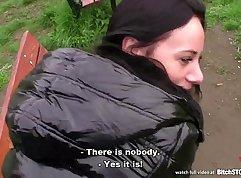 Lez Girls fucking in public boozer outdoor