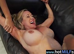 Determined mature lady Bailey Brooke gushes on big dick
