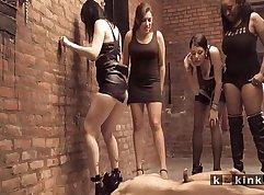 Tarnishing mistress femdom his slave maid sodden by bbc