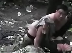 Cute Asian Chick Takes Her First White Dick In An Adult Theater