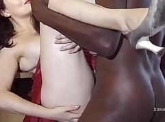 Black mama happy with the cock