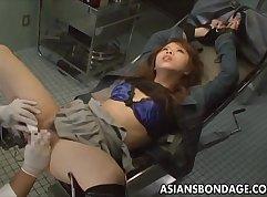 Seductive Japanese AV babe was having Fiore fun