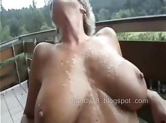 Amazing german target pussy fucked by two pick up dolls