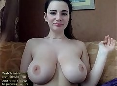 Russian babe starved to orgasm on a gigante