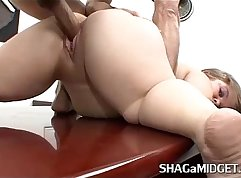 Submissive babes office fuck