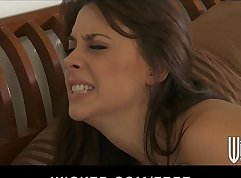 Big Titty Brunette Housewife Wants Anal Sex