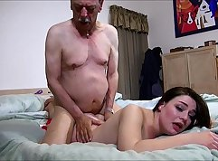 Big assed old sinner fucking his grandpa