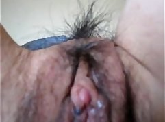 Big voyeur wife gets pussy eaten out