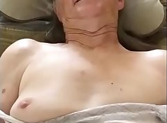 Grandma fucks visit cam