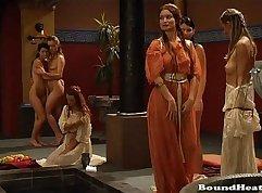 BDSM Lesbian TOP Spanking Scene ED