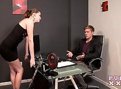 Casting Hungarian model fucked and facialed