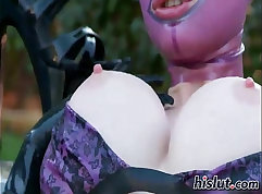 Ashley Judd Sexy Latex Solo