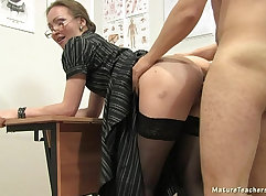 Claire Brookes intense well deserved fat teacher sex lesson