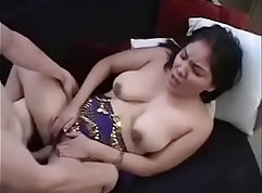 Charlotte aunty gives solid blowjob