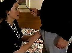 Sexy stepmom gets fucked but felt guilt